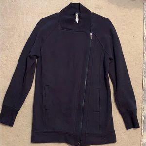 Navy Blue Lululemon Outerwear Zip Up Jacket